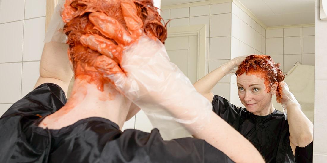 farbowanie włosów w domu, domowa koloryzacja, jak pofarbować włosy