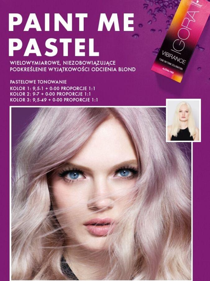 pastelowe kolory, pastelowa farba do włosów, tonowanie włosów