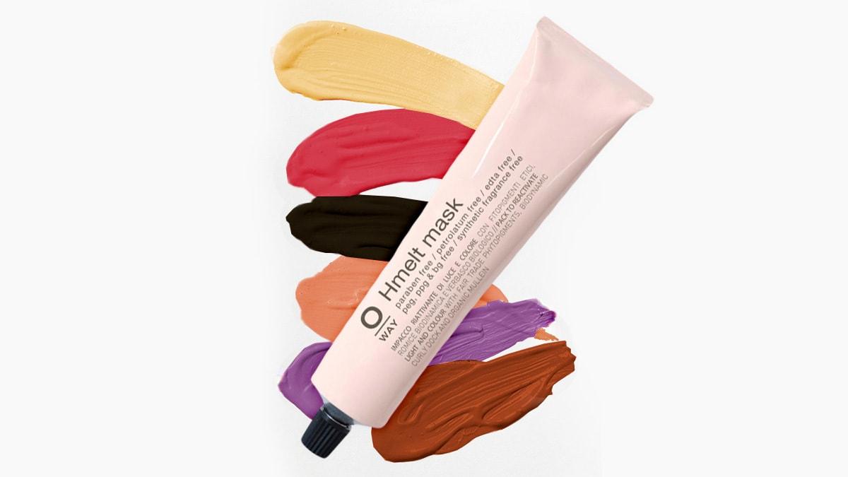 Piękne refleksy bez farbowania? Wypróbuj maskę do włosów OWay Hmelt!