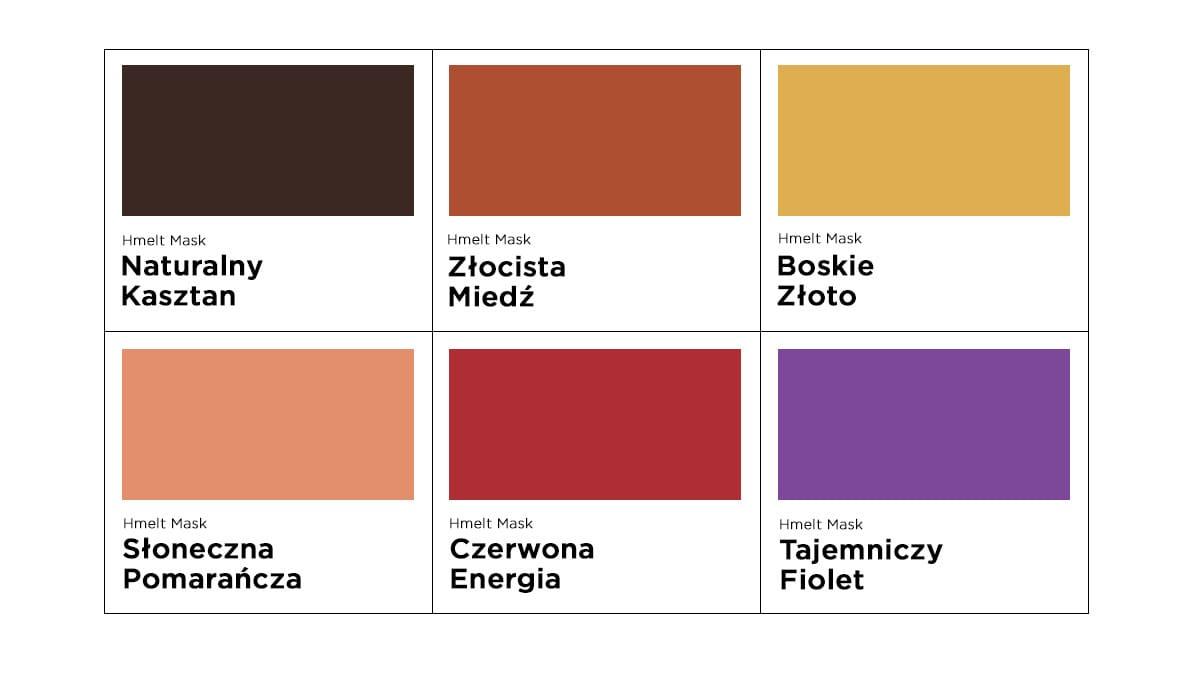paleta oway hmelt, kolory owayhmelt