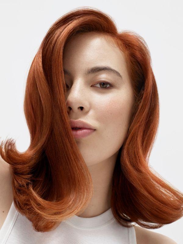 rude włosy, naturalne stylizacje biolage