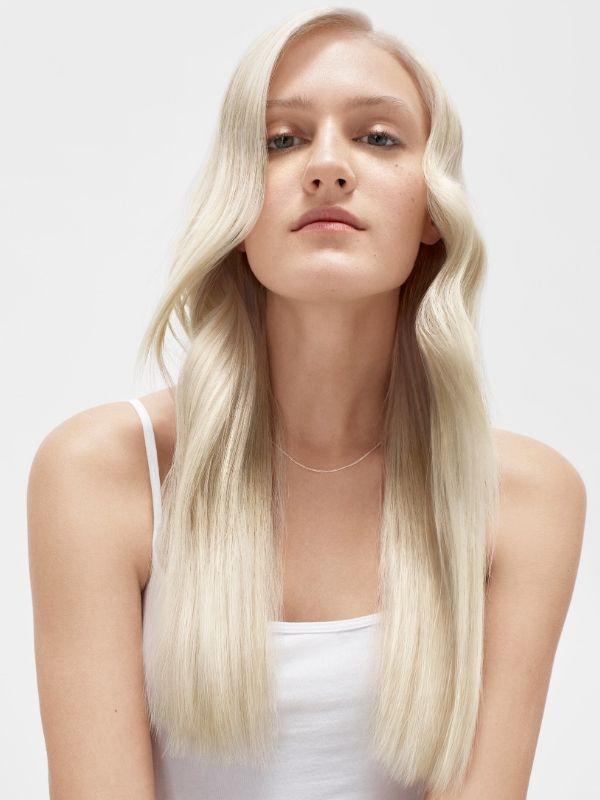 blond włosy, platynowe włosy