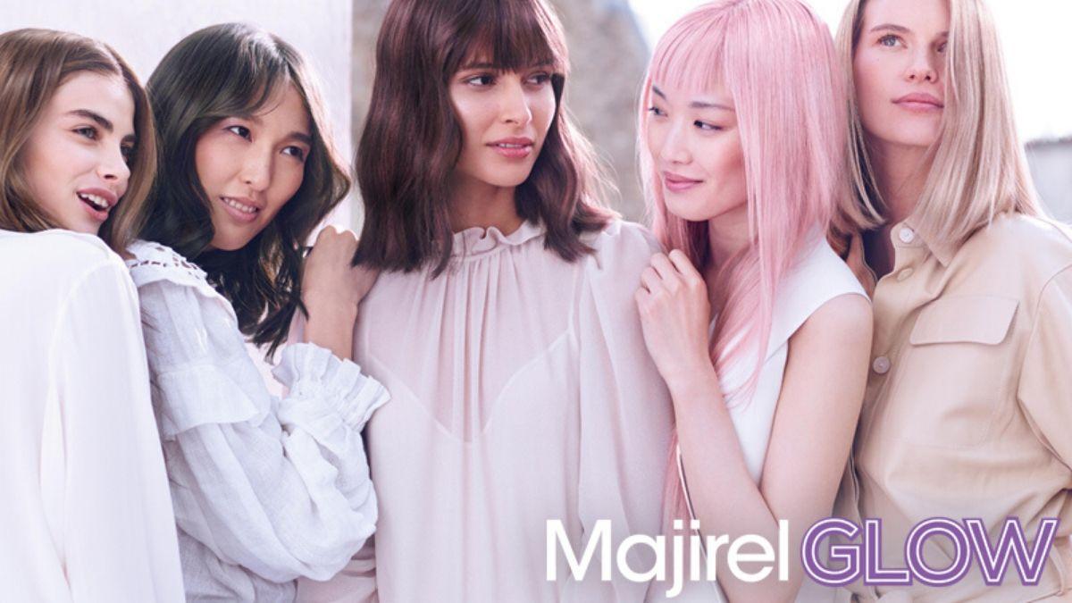 Nowość! Loreal Majirel Glow, czyli rozświetlające farby do włosów z kultowej palety