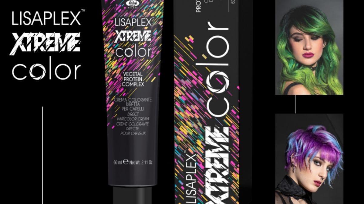 farba do włosó lisaplex xtreme kolor, kolory lisap xtreme color