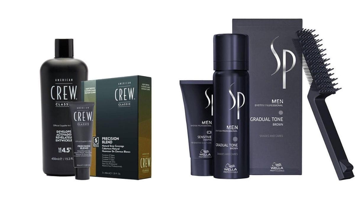 najlepsze odsiwiacze dla mężczyzn, kosmetyki do siwych włosów dla mężczyzn