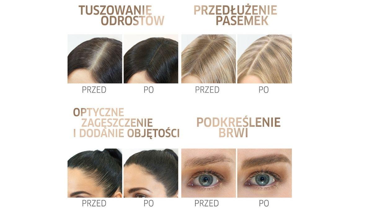 jak zatuszować siwe włosy, jak ukryć odrosty
