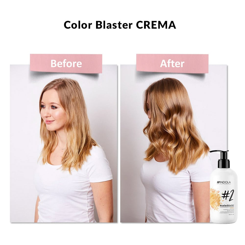 indola color blaster crema